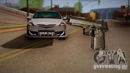 Пистолет из Max Payne для GTA San Andreas