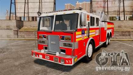 MTL Firetruck MDH1000 Midmount Ladder FDNY [ELS] для GTA 4