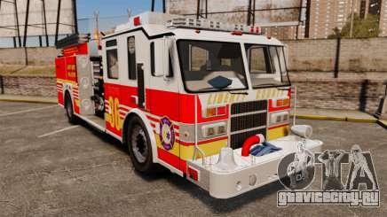 Firetruck LCFR [ELS] для GTA 4