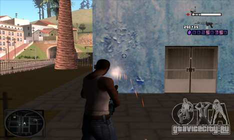 C-HUD Belenky для GTA San Andreas третий скриншот