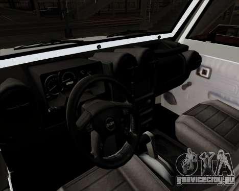Toyota Land Cruiser Machito 2009 LX для GTA San Andreas вид сзади
