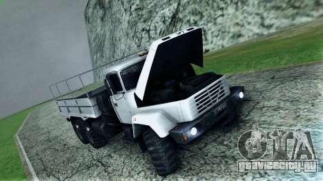 КрАЗ 6322 для GTA San Andreas вид сверху