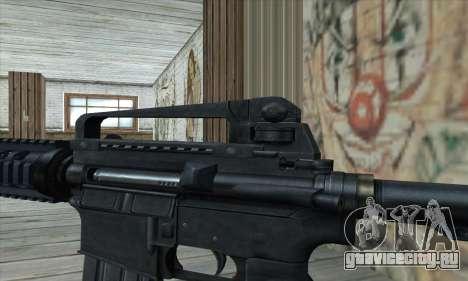 M4 RIS Carbine для GTA San Andreas третий скриншот