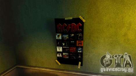 Новые постеры в квартире Романа для GTA 4 шестой скриншот