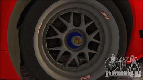 Porsche 911 GT3 RSR для GTA San Andreas вид справа