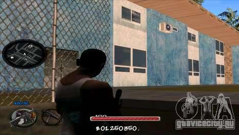 C-HUD by Jayson Wallace для GTA San Andreas второй скриншот