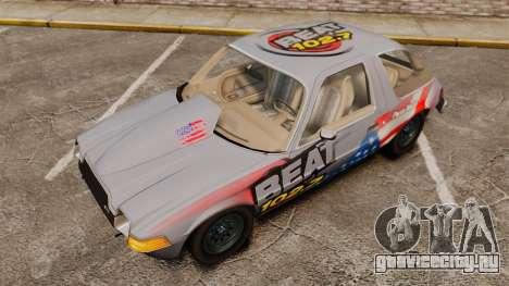 AMC Pacer для GTA 4 вид изнутри