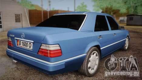 Mercedes-Benz E320 W124 для GTA San Andreas вид слева