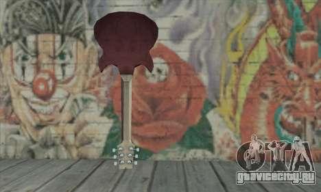 Гитара из L4D для GTA San Andreas второй скриншот