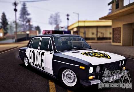 ВАЗ 2106 Police для GTA San Andreas
