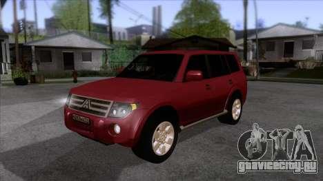 Mitsubishii Pajero IV для GTA San Andreas