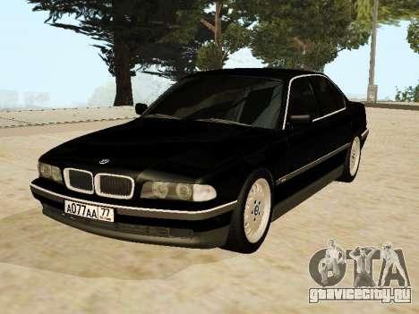 BMW 730 E38 для GTA San Andreas