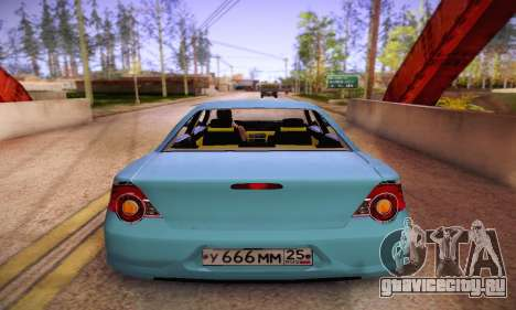 Volga Siber 2.5 AT Restyling для GTA San Andreas вид справа