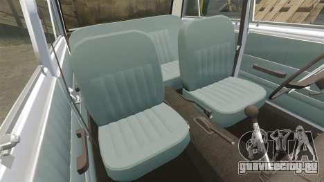 ВАЗ-2101 Жигули USSR для GTA 4 вид снизу