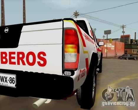 Nissan Terrano для GTA San Andreas вид изнутри