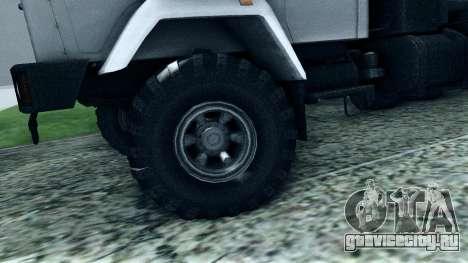 КрАЗ 6322 для GTA San Andreas вид сбоку