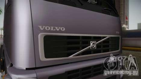 Volvo FH13 500 для GTA San Andreas вид изнутри