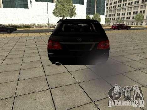 Mercedes-Benz w212 E-class Estate для GTA San Andreas вид справа