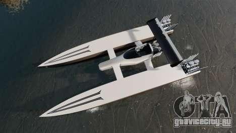 Dragboat Twin V8 для GTA 4 вид справа