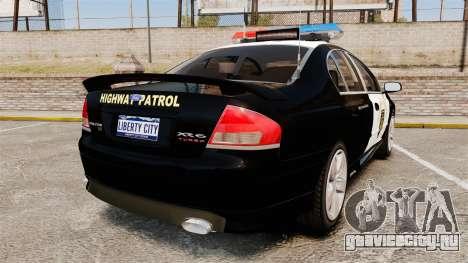 Ford BF Falcon XR6 Turbo LCHP [ELS] для GTA 4 вид сзади слева