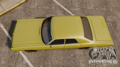Dodge Polara 1971 для GTA 4 вид справа