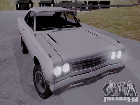 Plymouth Road Runner 383 1969 для GTA San Andreas
