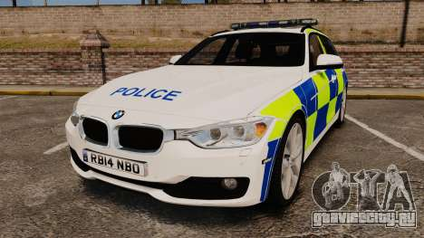 BMW 330d Touring (F31) 2014 Police [ELS] для GTA 4