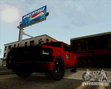 Ford F-150 для GTA San Andreas вид слева