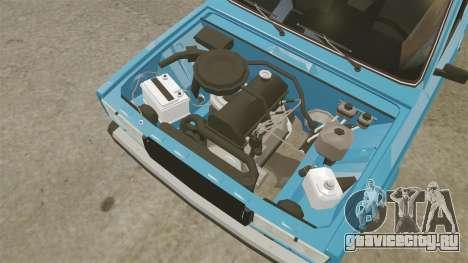 ВАЗ-2107 для GTA 4 вид сзади