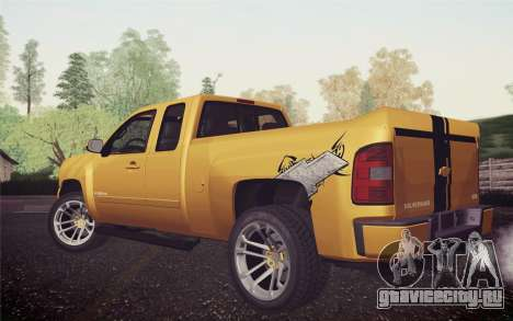 Chevrolet Silverado 2500 LTZ для GTA San Andreas вид слева