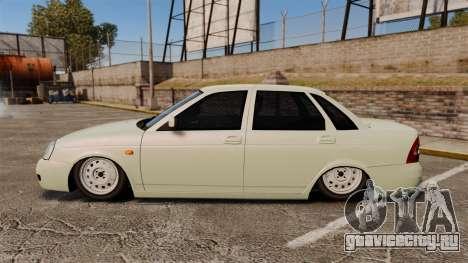 ВАЗ-2170 Lada Priora Luks для GTA 4 вид слева