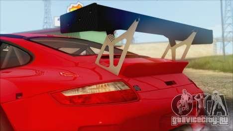 Porsche 911 GT3 RSR для GTA San Andreas вид сзади слева