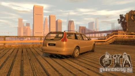 Daewoo Leganza Wagon для GTA 4 вид сзади слева