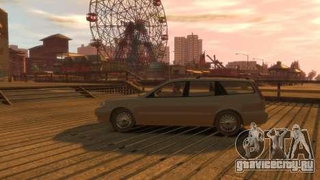 Daewoo Leganza Wagon для GTA 4 вид сзади