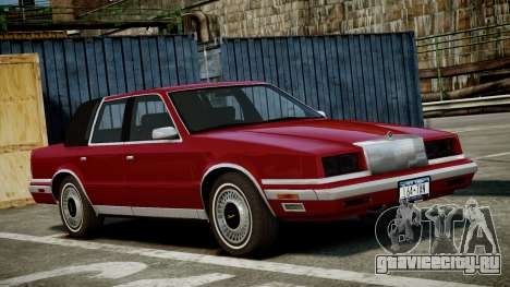 Chrysler New Yorker 1988 для GTA 4