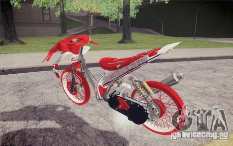 Vario Drag version JKT48 для GTA San Andreas вид слева