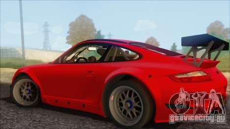 Porsche 911 GT3 RSR для GTA San Andreas вид слева