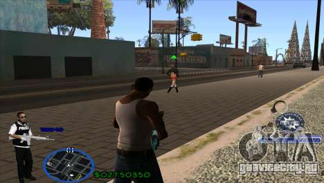 C-HUD Police для GTA San Andreas второй скриншот