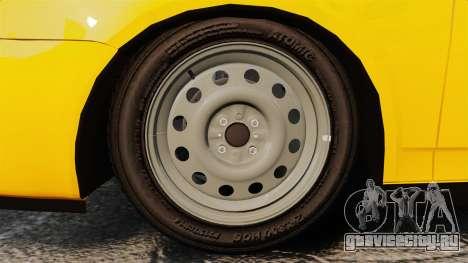 ВАЗ-2170 Лада Приора для GTA 4 вид сзади