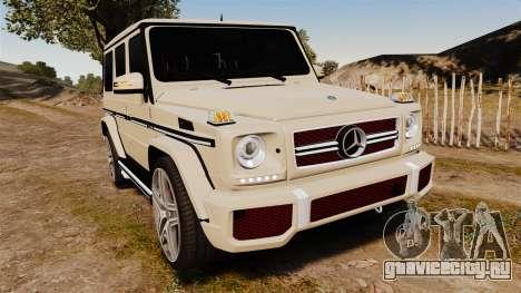 Mercedes-Benz G65 (W463) 2012 AMG для GTA 4