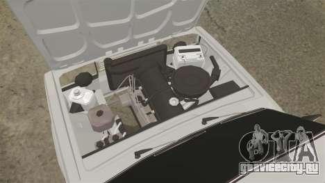 ВАЗ-2107 Жигули для GTA 4 вид изнутри