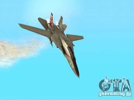 F-14 LQ для GTA San Andreas вид сбоку