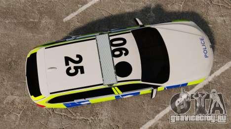 BMW 330d Touring (F31) 2014 Police [ELS] для GTA 4 вид справа