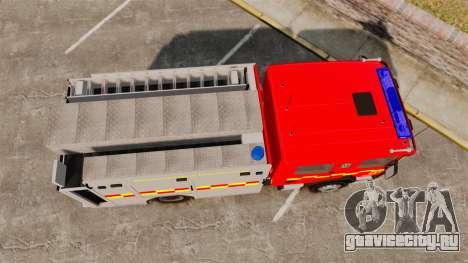 Scania 94D 260 BAS1 Stockholm Fire Brigade [ELS] для GTA 4 вид справа
