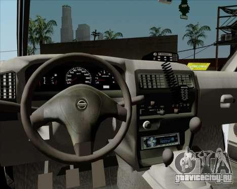 Nissan Terrano для GTA San Andreas вид снизу