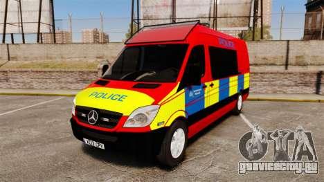 Mercedes-Benz Sprinter 313 CDI Police [ELS] для GTA 4