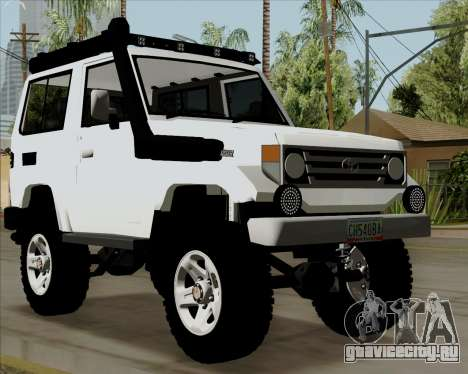 Toyota Land Cruiser Machito 2009 LX для GTA San Andreas