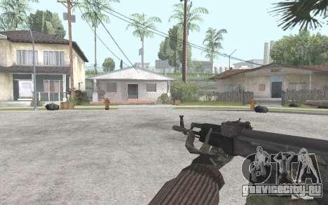 АК-101 для GTA San Andreas третий скриншот