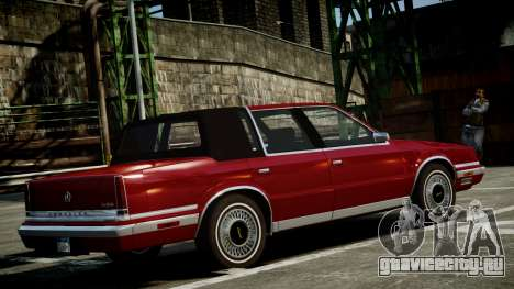 Chrysler New Yorker 1988 для GTA 4 вид слева