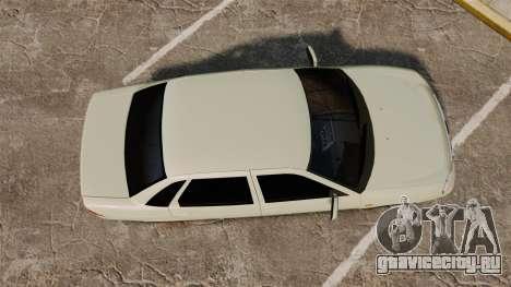 ВАЗ-2170 Lada Priora Luks для GTA 4 вид справа